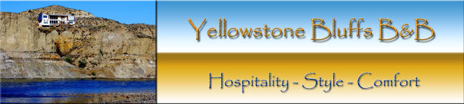 Hotels in Miles City, MT Yellowstone Bluffs B&B Logo